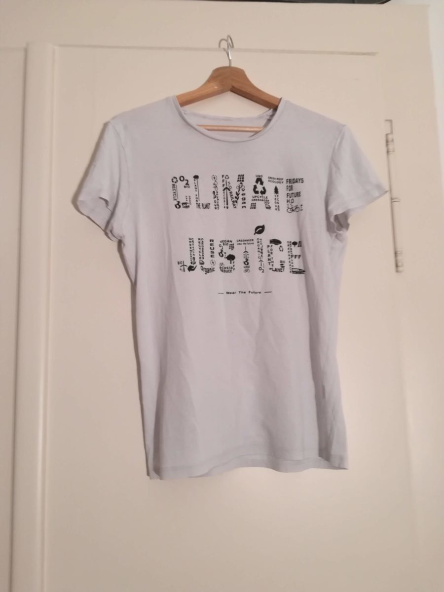 climate justice greenager shirt