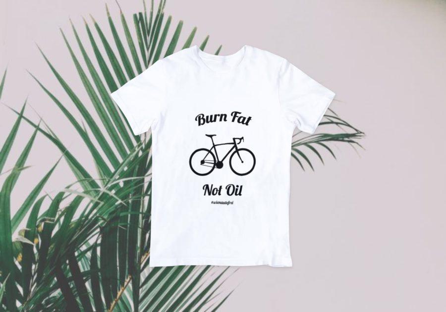 burn fat - not oil greenager-shirt